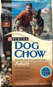 Dog Chow Adult с мясом